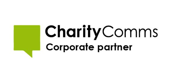 Charity comms logo