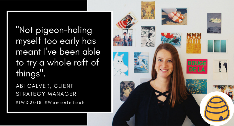 Fat Beehives, Abi Calcer, Client strategy manager