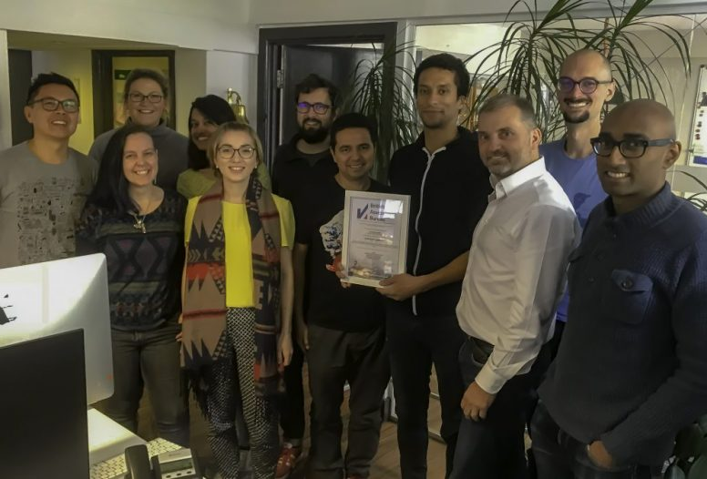 Fat Beehive team with ISO27001 certificate