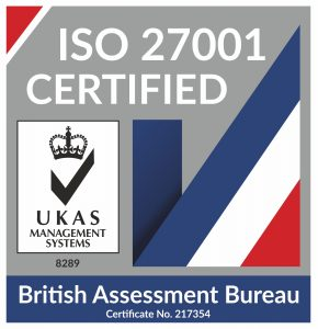 ISO 27001 certification logo