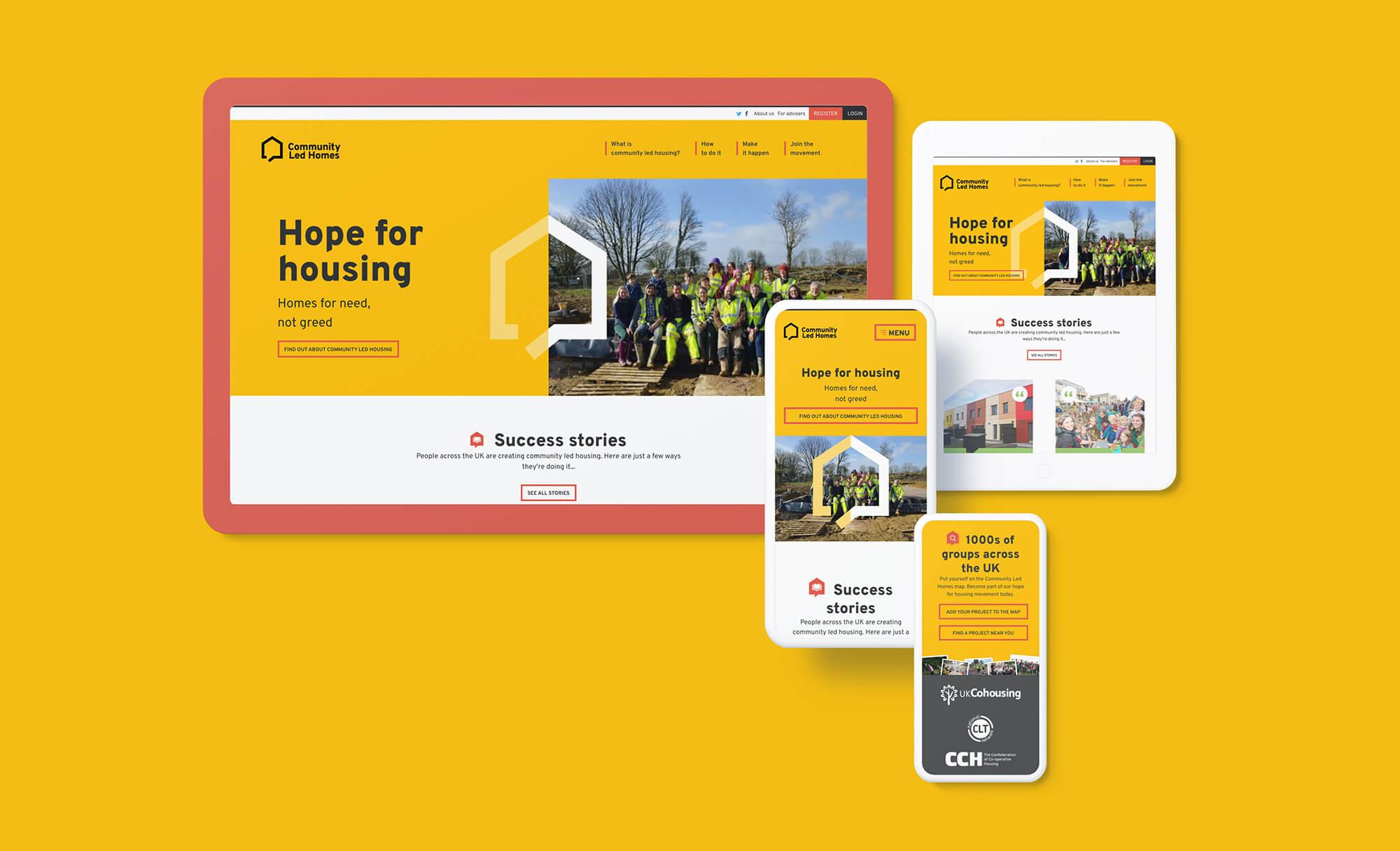 Community Led Homes Design