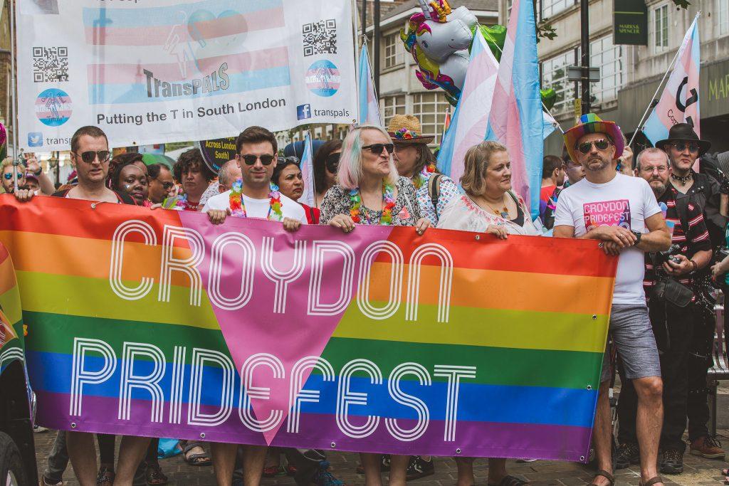 Fat Beehive Croydon Pride parade