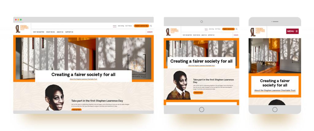 Stephen Laurence blog designs