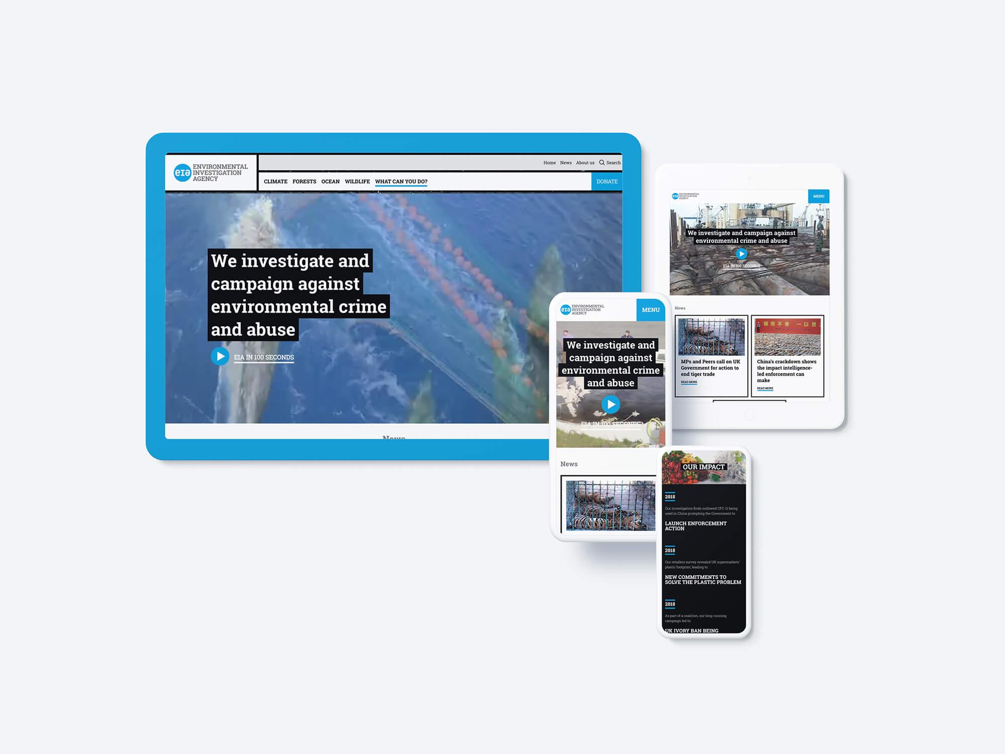 Environmental Investigation Agency Desktop