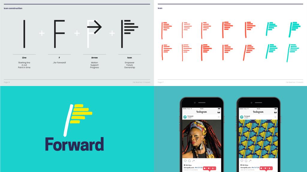FORWARD initial logo rebrand proposal