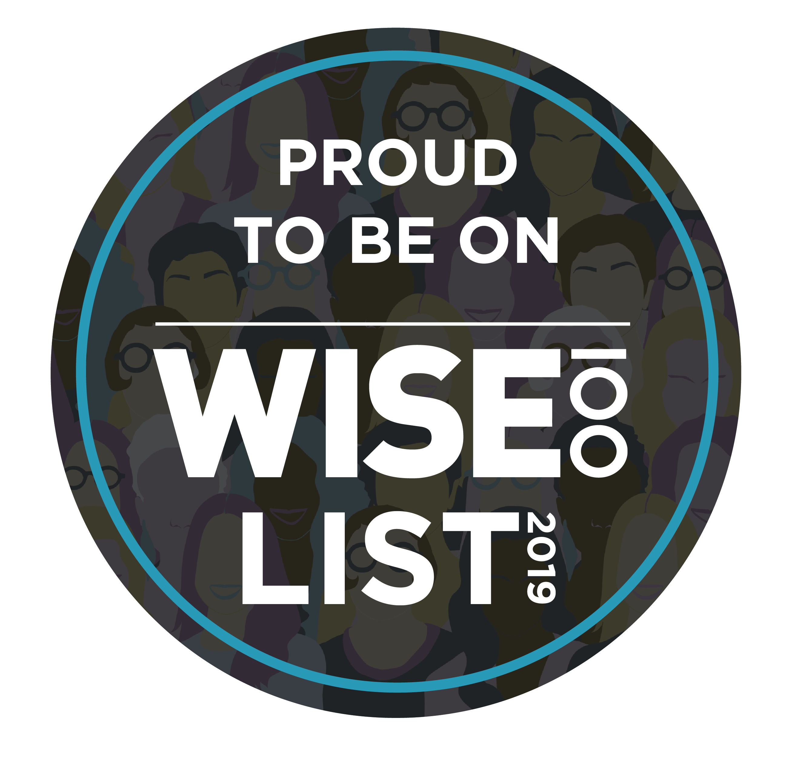 Wise 100 List 2019 badge