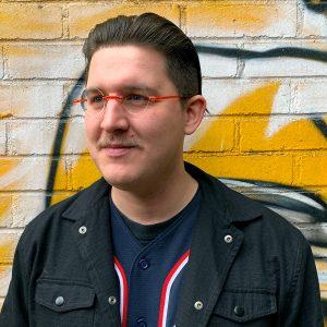 Fat Beehive designer employee Andrew Halloway