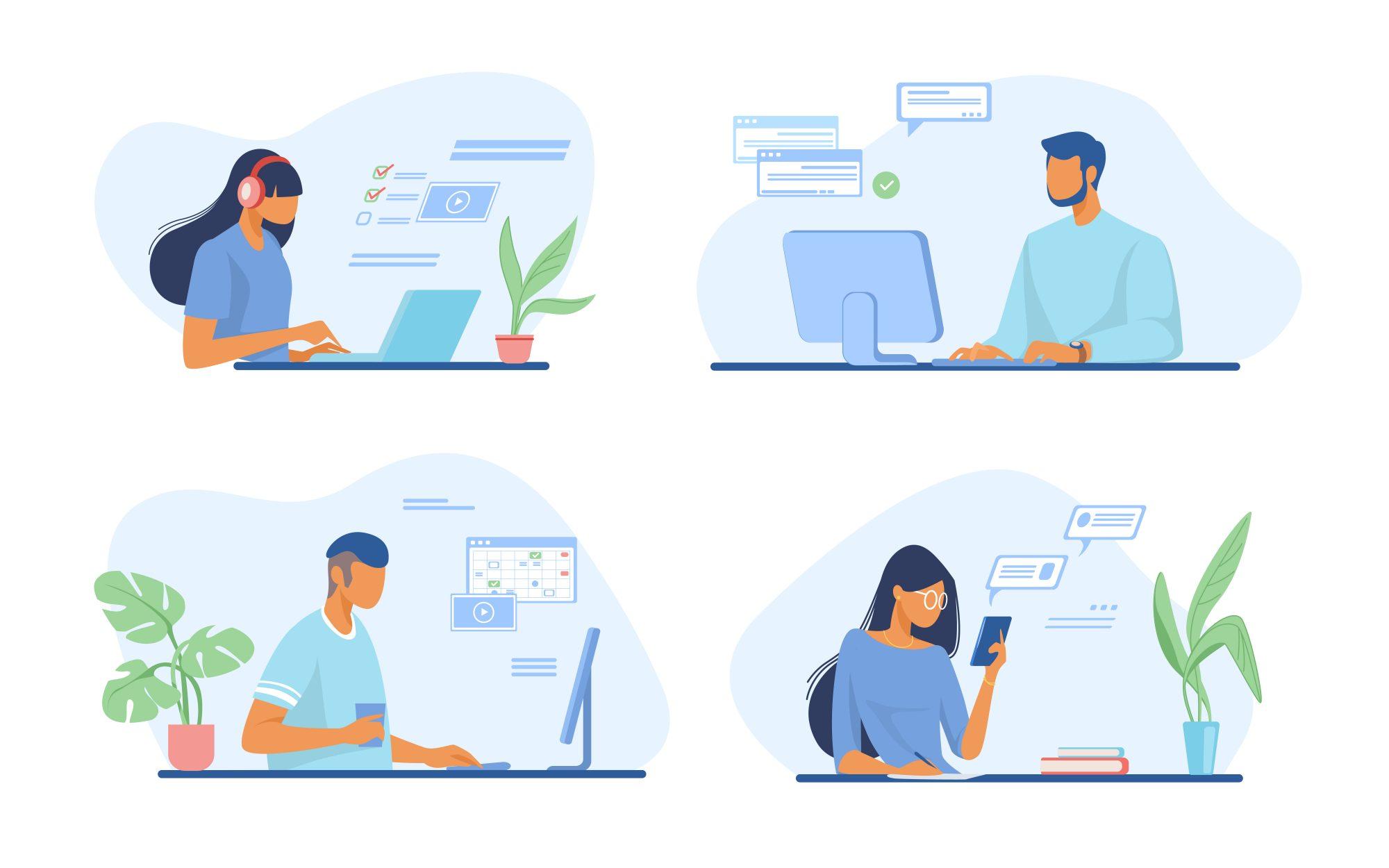 coding illustration