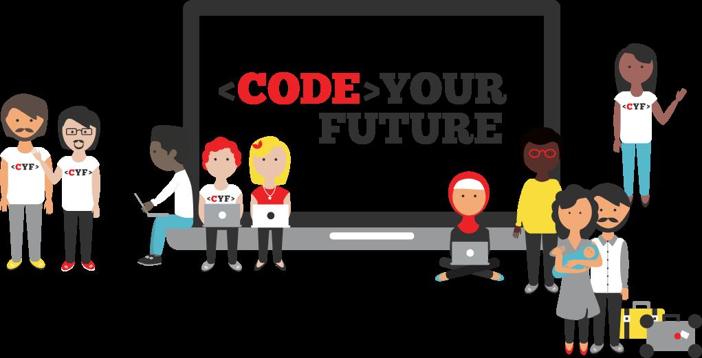 Code Your Future illustration