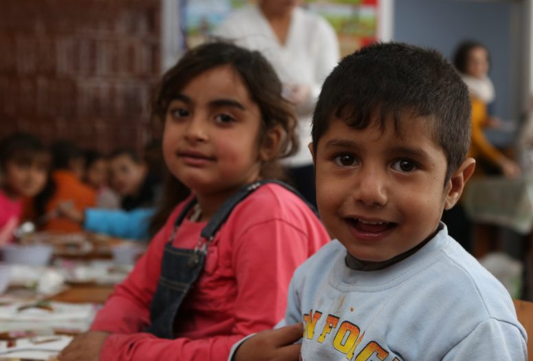 Children supported by Fara charity