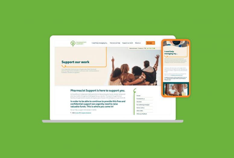 New pharmacist support website