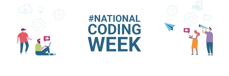 National coding week banner